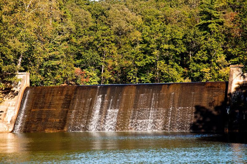 Issaqueena Dam at Keowee River