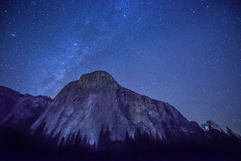 """Milky Way over El Capitan"""