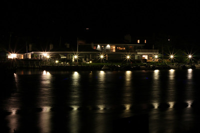 Night in Westhampton Beach, NY.