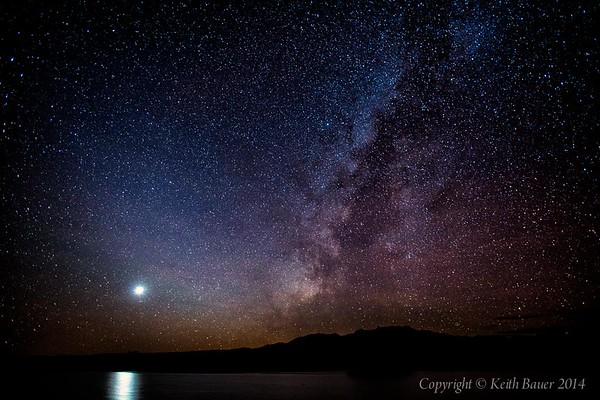 Milky Way with Venus