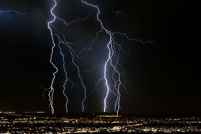 Lightning Storm over Albuquerque 4