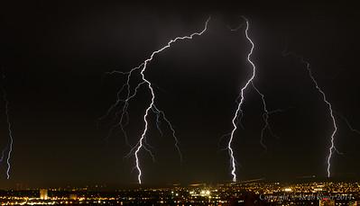 Lightning Storm over Albuquerque 6