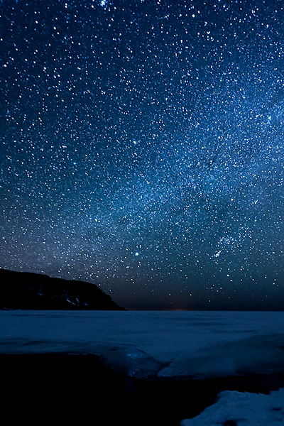 Starry Night on Old Woman Bay