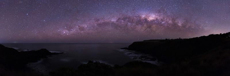 Milky Way over the Blowhole