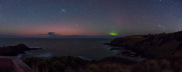 Panorama Aurora at Flinders