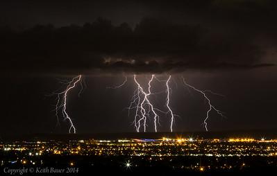 Lightning Storm over Albuquerque 2