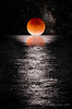 Lunar Eclipse Moonset