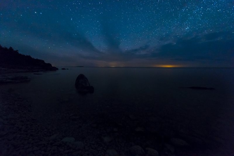Night Skies on Georgian Bay