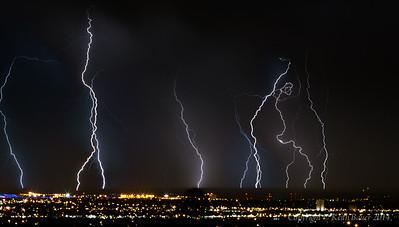 Lightning Storm over Albuquerque 7