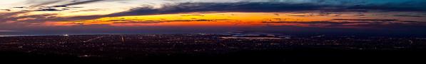 Adelaide Skyline Panorama