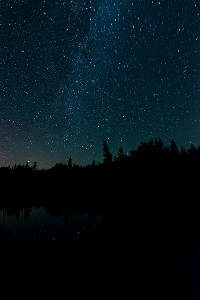 Milky Way over Lake Superior