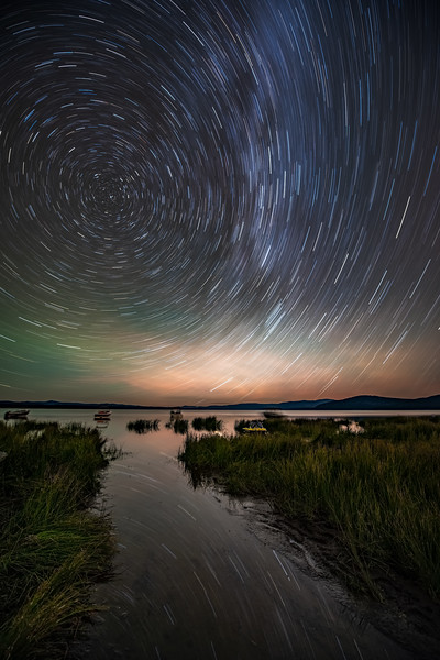 Eagle Lake Star Trails