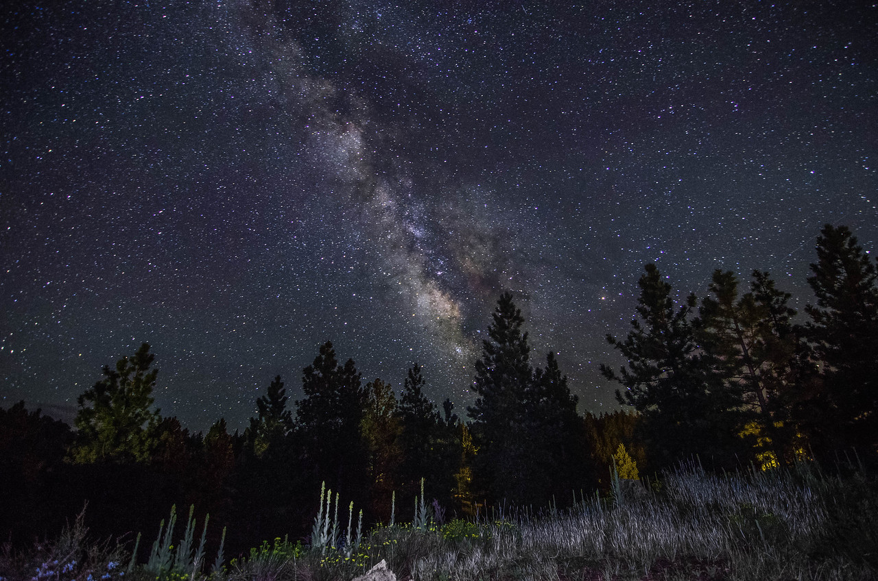 The Milky Way near Panguitch Lake