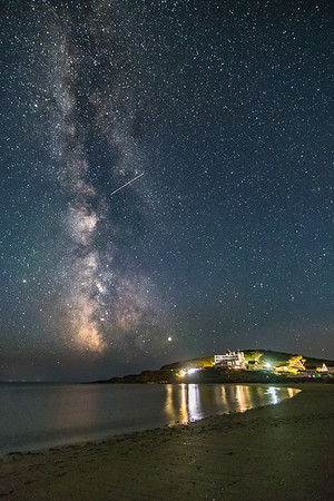 Milky Way over Burgh Island 4