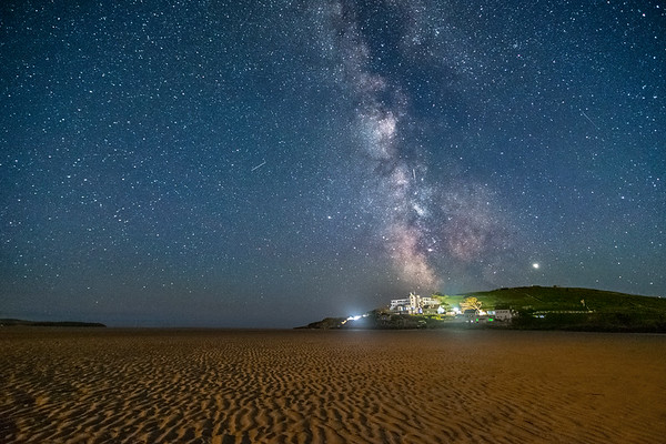 Milky Way over Burgh Island 3