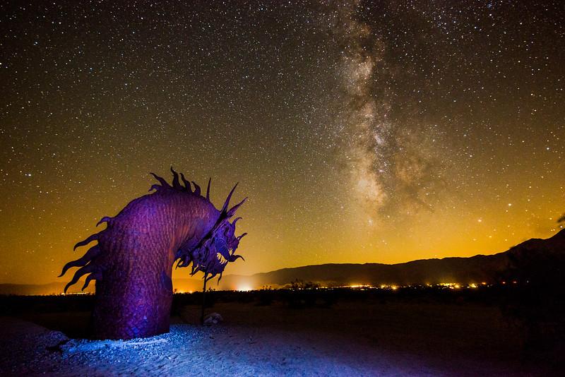 Milky Way at Borrego Springs