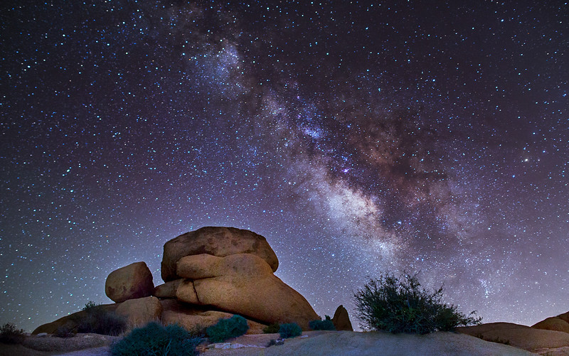 Milky Way at Joshua TreeNational Park