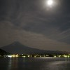 Mt. Fuji by moonlight.