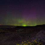 Aurora Borealis in Eastern Washington on massive storm