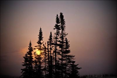 Lake Superior. Pancake Bay Provincial Park.