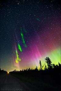 Northern Lights. Sturgeon Falls, ON.