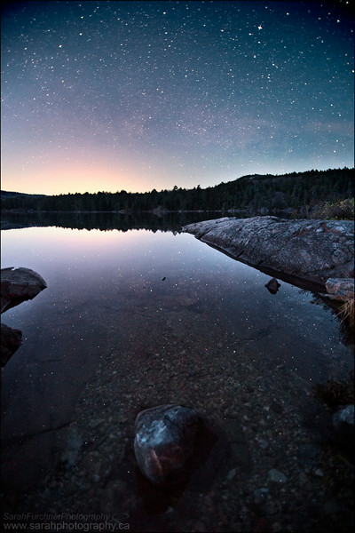 Killarney Lake, Killarney Provincial Park, ON.
