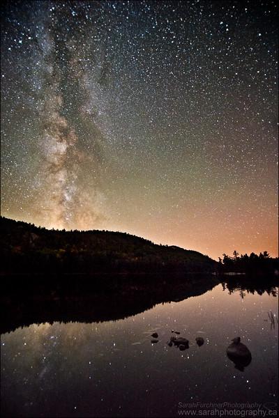 Grace Lake. Killarney Provincial Park, ON.