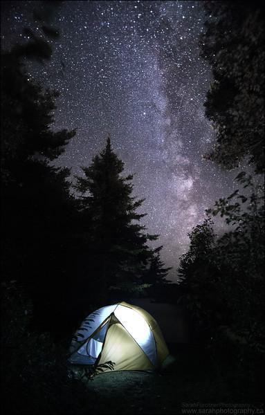 George Lake.  Killarney Provincial Park, ON.