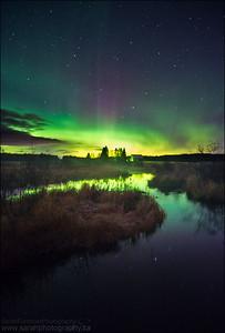 Northern Lights. Sudbury, Ontario.