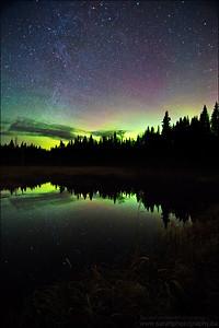 Northern Lights, Sudbury Ontario.