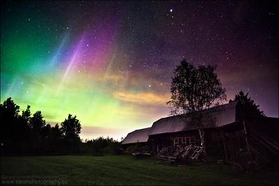 Northern Lights.  Sudbury, ON.