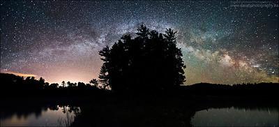 Three Narrows Lake. Killarney Provincial Park, Ontario.