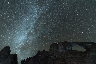 Milky Way at Skyline Arch