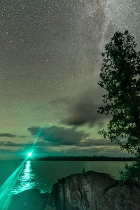Milky Way over Copper Harbor