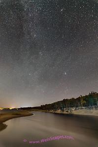 Milky Way over Port Cresent