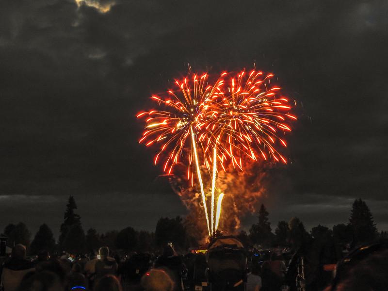 Fireworks Rainier Vista Park