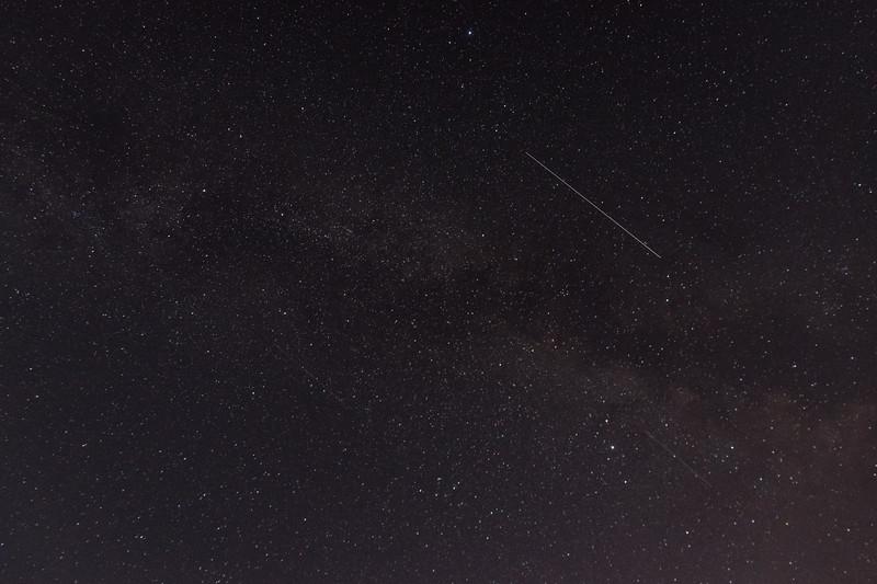 Milky Way and Shooting Stars!