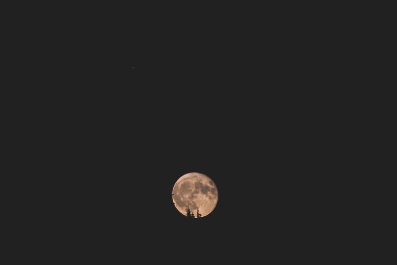 Mars & Moon