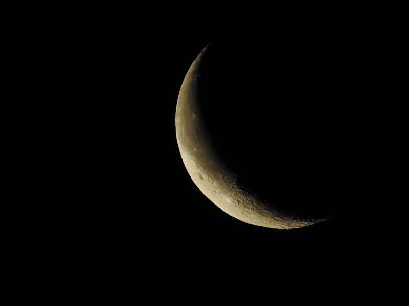 Moon 645am 16.8% Waning Crescent