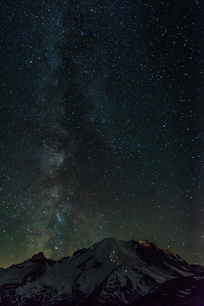 Milky Way Climbers & Mt Rainier