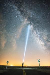 Milky Way Crossing, Mojave CA