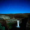 Palouse Falls at night