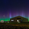 Northern Lights over Pendleton, Oregon