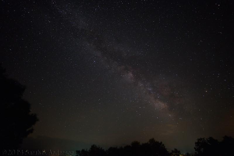 Milky Way over Canaan
