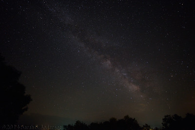 Milky Way over Canaan