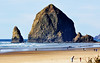 D90, Nikon 70-300VR, Haystack Rock, Cannon Beach, Oregon