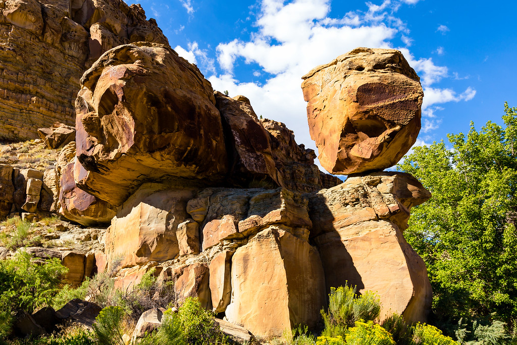 Balanced rock, Nine Mile Canyon