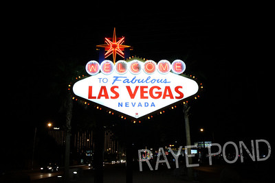 Famous Las Vegas Sign.