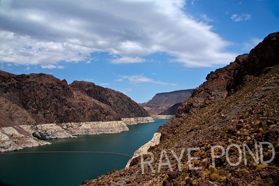 Colorado River at Hoover Dam.