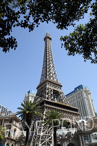 Eiffel Tower at the Paris Hotel.
